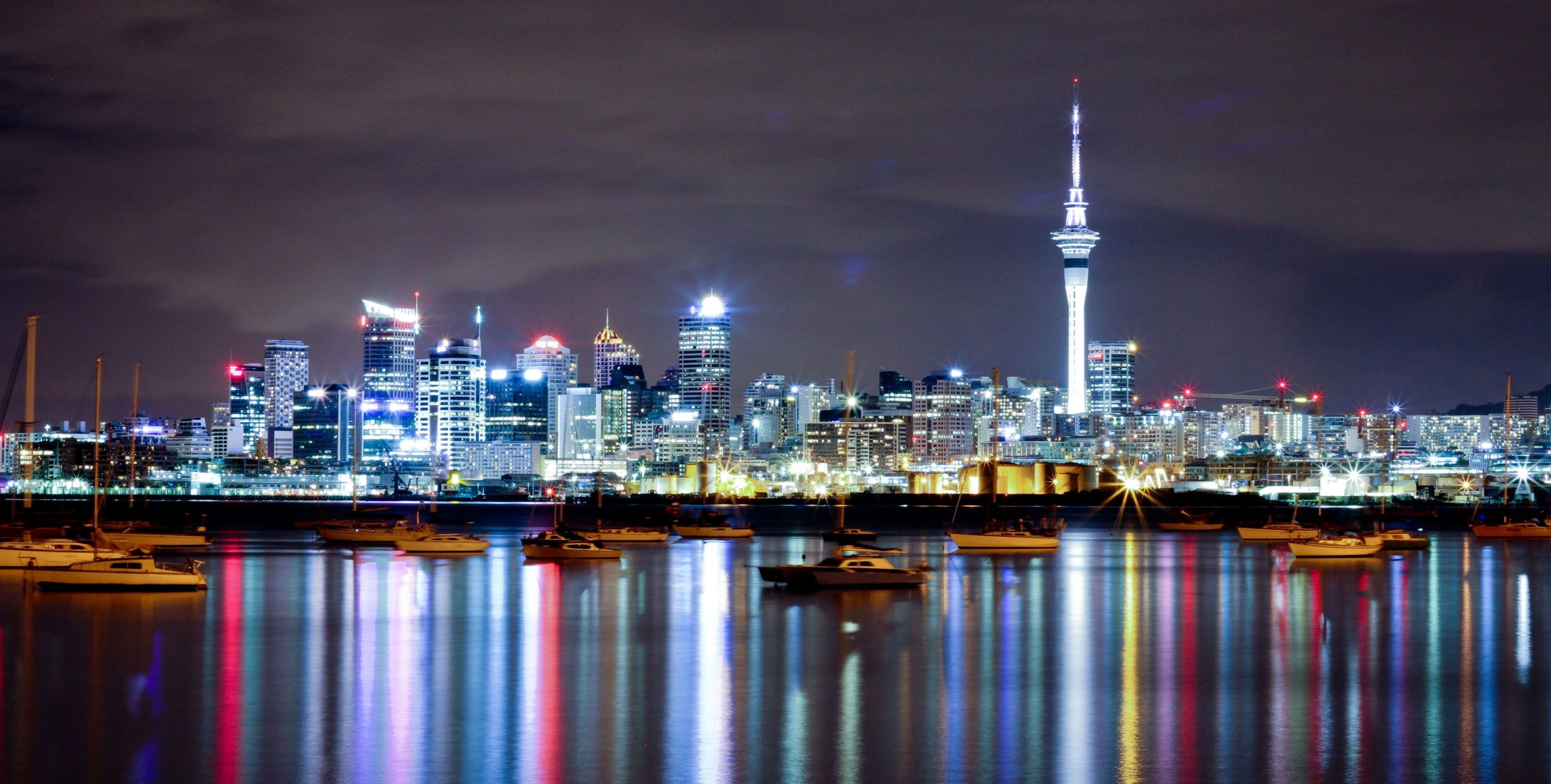 Photo of Auckland CBD skyline